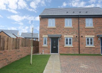 Thumbnail 2 bed semi-detached house for sale in Furrow Grange, Acklam, Middlesbrough