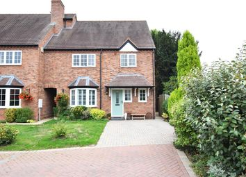 Thumbnail 4 bed end terrace house for sale in Doctors Close, Tanworth-In-Arden, Solihull