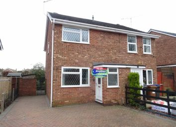 Thumbnail 2 bed semi-detached house to rent in Lilac Close, Burbage, Hinckley