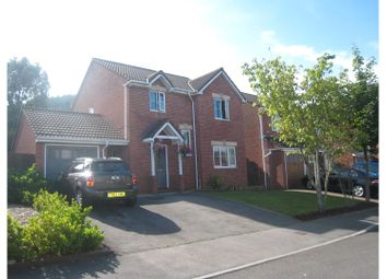 Thumbnail 4 bed detached house for sale in Forest View, Cwmbran
