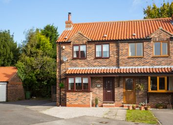 Thumbnail 2 bed semi-detached house for sale in West Villas, Huby, York