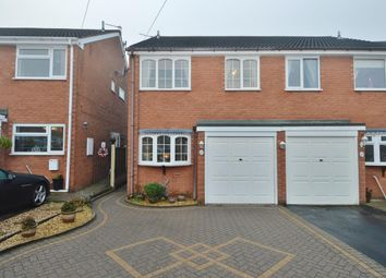 Thumbnail 3 bedroom semi-detached house for sale in Jubilee Close, Great Wyrley, Walsall