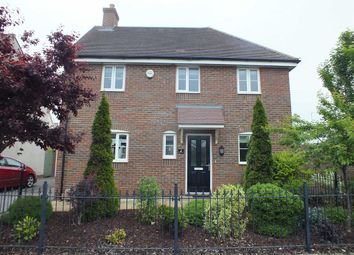 Thumbnail 4 bed detached house to rent in Hawthorn Road, Melksham, Wiltshire