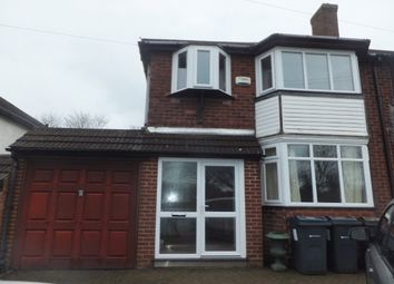 Thumbnail 3 bed semi-detached house to rent in Sutton Oak Road, Sutton Coldfield