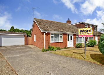 Thumbnail 3 bed semi-detached bungalow for sale in Nightingale Close, Chartham Hatch, Canterbury, Kent