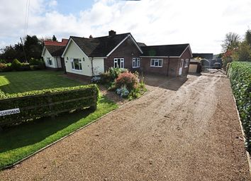 Thumbnail 5 bed detached bungalow for sale in Loss Wroo, Old Buckenham, Attleborough