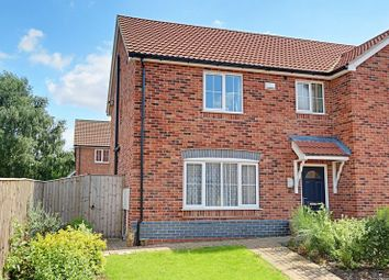 Thumbnail 3 bed semi-detached house for sale in Scholars Walk, Brigg