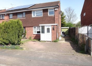Thumbnail 3 bed semi-detached house for sale in Gilbert Close, Off Trevino Drive, Rushey Mead