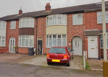 Thumbnail 3 bedroom terraced house for sale in Oliver Road, Leicester