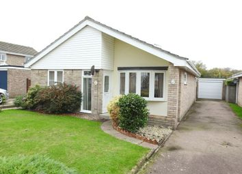 Thumbnail 3 bedroom detached bungalow for sale in Romney Place, Gunton, Lowestoft