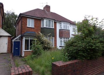 Thumbnail 3 bed semi-detached house for sale in Wolverhampton Road South, Quinton, Birmingham, West Midlands