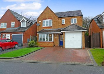 Thumbnail 4 bed detached house for sale in Bretby Hollow, Newhall, Swadlincote