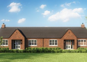 Thumbnail Terraced bungalow for sale in Fallow Croft, Saxilby, Lincoln