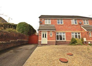 Thumbnail 3 bed semi-detached house for sale in Tudor Mews, Miskin, Pontyclun, Rhondda, Cynon, Taff.
