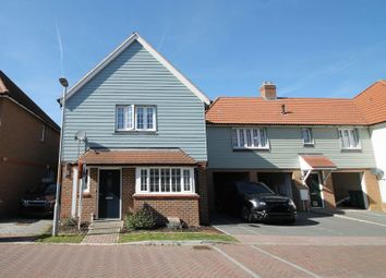 Thumbnail 3 bed detached house for sale in Lancaster Drive, Hawkinge, Folkestone