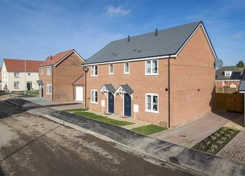 Thumbnail 3 bed semi-detached house for sale in Plot 4A, The Sparta, Abbey Walk, Swineshead, Boston