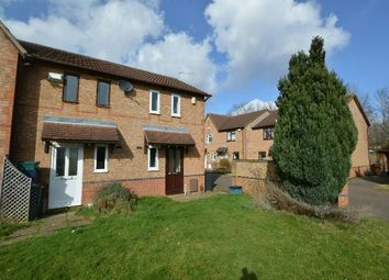 Thumbnail 1 bedroom end terrace house for sale in Lindisfarne Way, East Hunsbury, Northampton