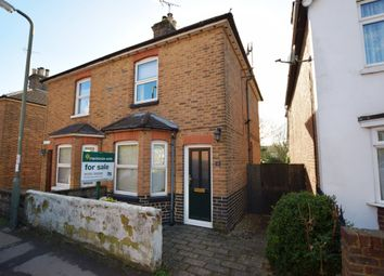 Thumbnail 3 bed semi-detached house for sale in Grove Road, Ash Vale