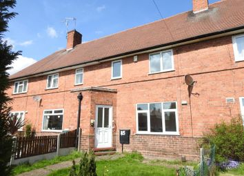 Thumbnail 3 bed terraced house for sale in Naworth Close, Old Basford, Nottinghame