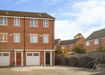 Thumbnail 4 bed town house for sale in Bessemer Drive, Mansfield