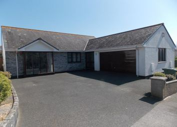 Thumbnail 4 bed detached bungalow for sale in Derowen Drive, Hayle