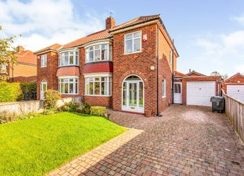 Thumbnail 3 bed semi-detached house for sale in Grange Crescent, Marton-In-Cleveland, Middlesbrough