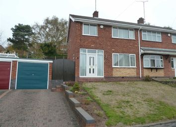 Thumbnail 3 bed semi-detached house for sale in Moorwood Crescent, Hartshill, Nuneaton
