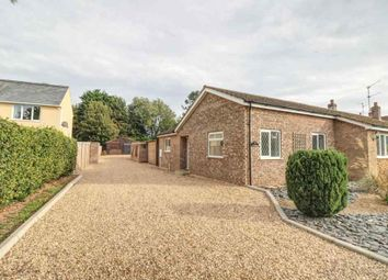 Thumbnail 2 bed semi-detached bungalow to rent in Ferry Road, Clenchwarton, King's Lynn