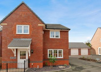 Thumbnail 4 bed detached house to rent in Morville Street, Webheath, Redditch