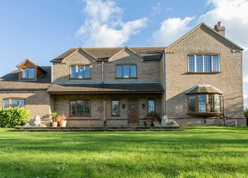 Thumbnail 6 bed detached house for sale in North Road, Gedney Hill, Spalding
