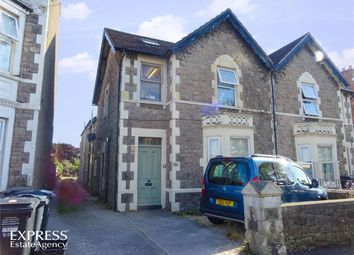 Thumbnail 3 bed flat for sale in 74 Moorland Road, Weston-Super-Mare, Somerset