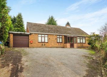 Thumbnail 3 bedroom detached bungalow for sale in Crich Common, Fritchley, Belper