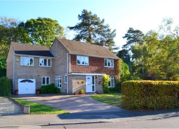 Thumbnail 5 bed detached house for sale in Byron Avenue, Camberley