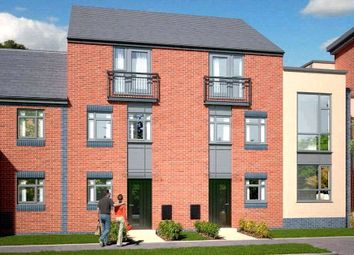 Thumbnail 4 bedroom town house for sale in The Dawlish - Plot 419, Johnsons Wharf, Leek Road, Hanley, Stoke On Trent