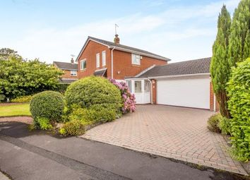Thumbnail 4 bed detached house for sale in Cuerden Rise, Lostock Hall, Preston, Lancashire
