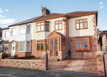 Thumbnail 4 bed semi-detached house for sale in Rydal Avenue, Prescot, Prescot