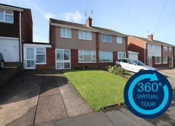 Thumbnail 4 bedroom semi-detached house for sale in Sullivan Road, Broadfields, Exeter