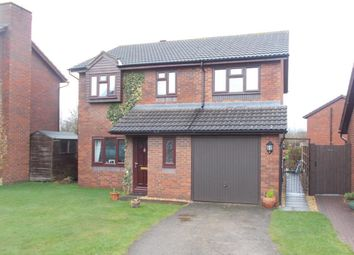 Thumbnail 4 bed detached house for sale in Felcourt Drive, Bicton Heath, Shrewsbury