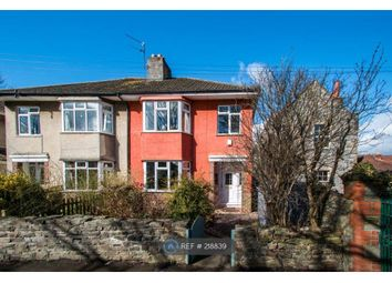 Thumbnail 3 bed semi-detached house to rent in St. Bartholomews Road, Bristol