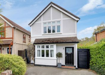Thumbnail 4 bed detached house for sale in Chertsey Road, Windlesham