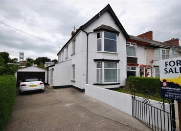 Thumbnail 3 bed semi-detached house for sale in Warwick Terrace, Barnstaple
