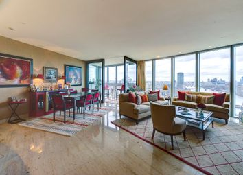 Thumbnail 3 bed flat for sale in The Tower, St. George Wharf, London