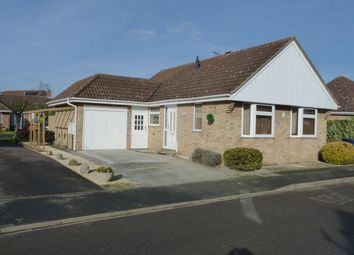 Thumbnail 2 bedroom detached bungalow for sale in Worsley Chase, March