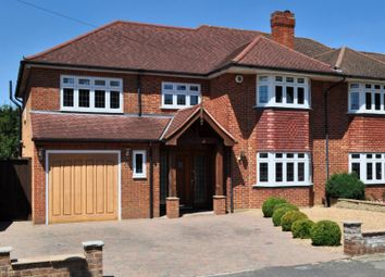 Thumbnail 4 bed semi-detached house for sale in Bushey Way, Beckenham