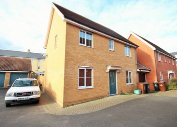 Thumbnail 3 bed detached house for sale in James Gore Drive, Colchester