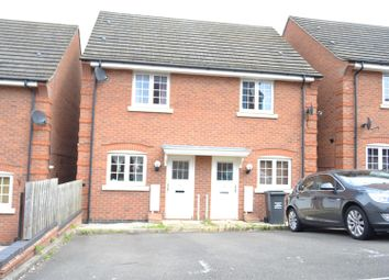 Thumbnail 2 bed semi-detached house for sale in Spinners Way, Shepshed, Leicestershire