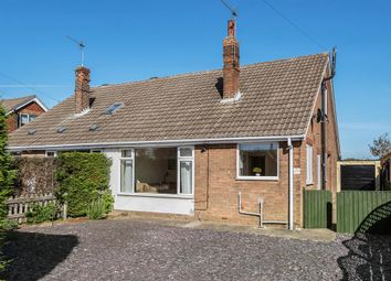 Thumbnail 2 bed semi-detached bungalow for sale in Station Road, Gilberdyke, Brough HU152Su