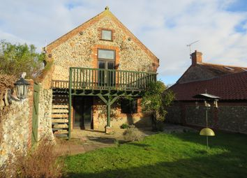 Thumbnail 3 bedroom barn conversion for sale in Main Road, Sidestrand, Cromer