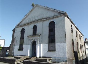 Thumbnail Commercial property for sale in Former Non-Conformist Chapel, Wyndham Street East, Plymouth