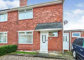 Thumbnail 2 bed semi-detached house for sale in Broome Court, Carlisle, Cumbria